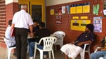 Les agents de distribution du courrier postal en grève