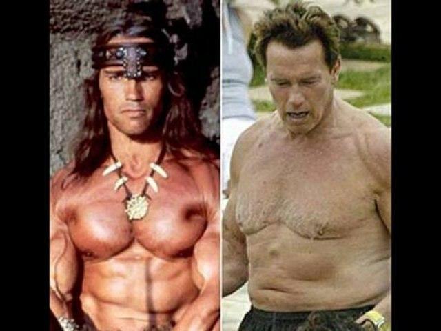 arnold schwarzenegger avant et après