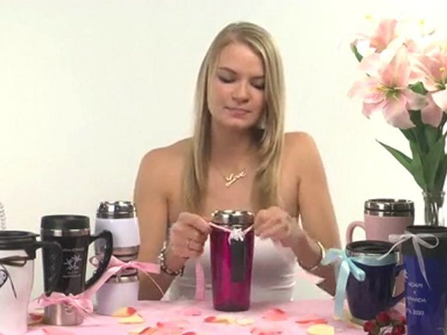 Robin Thicke – Mona Lisa – Travel Mug Wedding Idea
