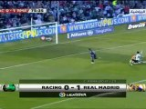Real Madrid (2-0) Racing Santander  (04-04-2010)