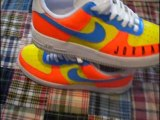 Custom Air Force One and NYX Nikes