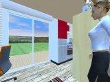 Maison modulaire aménageable à bas coût
