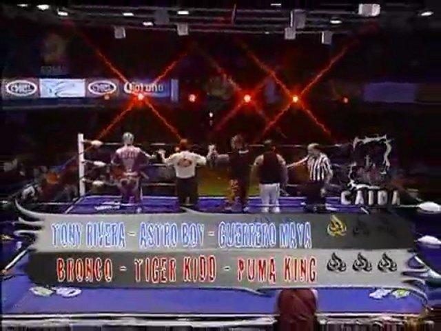 Astro Boy, Maya, Tony vs Bronco, Puma, Bronco, Tiger