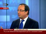 François Hollande : L'invité politique d'Itélé (07/04/10)