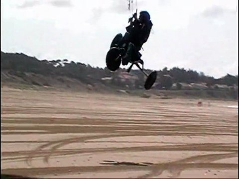 Session kite MTB buggy jump