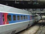 Paris Est Arrivée UM de TGV POS 4402 4418