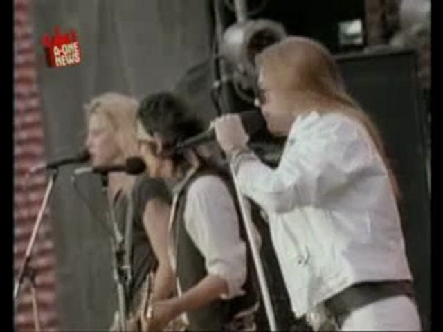 Guns N' Roses (A-ONE NEWS 27.10.08)