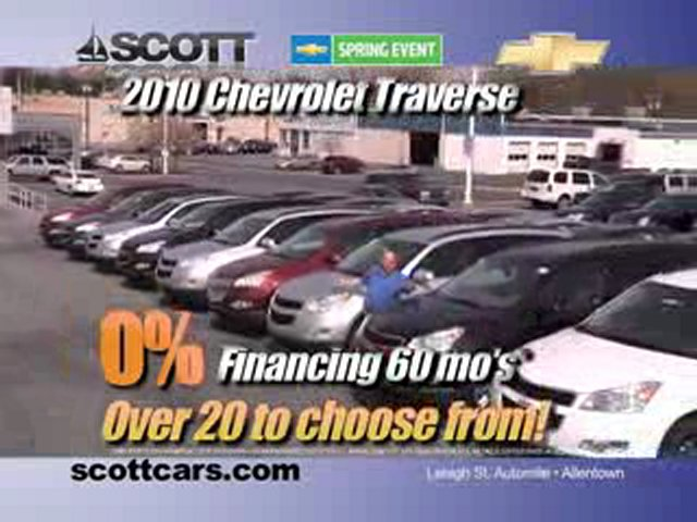 2010 Chevy Traverse & 2010 Chevy Equinox – Allentown, PA