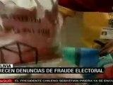 Video Crecen denuncias de fraude electoral en Bolivia