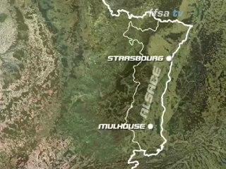 Rallye de France - Le parcours en 3D