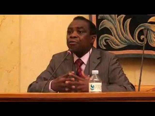Benjamin Toungamani au Grand débat sur la Tribalité