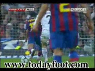 REAL MADRID 0-2 FC BARCELONE PEDRO