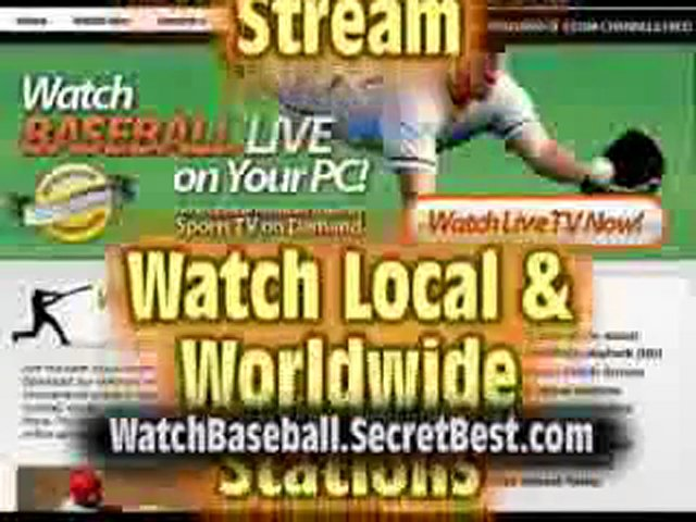 Watch MLB Baseball Online