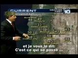 Chemtrails-Présentateur météo dénonce les épandages aeriens