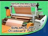 SUNLAMIN Sunta Kaplama Makinesi (Finish Folyo) Yigitler
