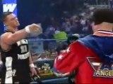 WWE Smackdown! Kurt Angle vs. John Cena in a Battle Rap.