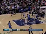 Vince Carter takes the feed form Jameer Nelson and throws it
