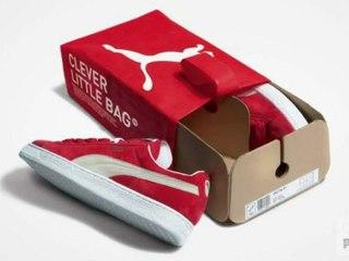 Puma révolutionne le packaging de sa boite à chaussure | La