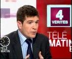 """Benoist Apparu:""""4 vérités"""" dans TÉLÉMATIN-France2 (09/04/10)"""