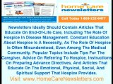 Private Duty Newsletters   Hospice Newsletters