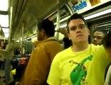 beatbox et a cappella dans un métro de new-york