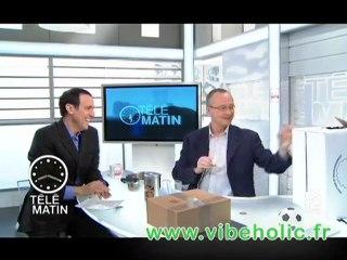 Vibeholic à télématin - Vibeholic.fr