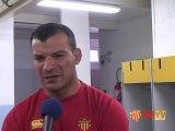 Les interviews d'avant match RCT USAP
