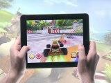 Jeux Gameloft iPad : Shrek Kart HD (trailer)