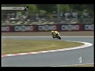le Drift de Valentino Rossi à Catalunya