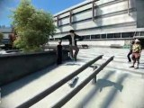 EA Skate 3 Running Hippy Jump 360