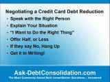 Can I Negotiate Credit Card Debt Reduction?