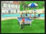 wii sport resort : tennis de table