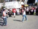 Spectacle de danse Hip-Hop Paris 2010 Tour eiffel