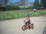 Théo en vélo
