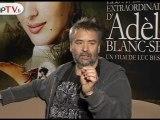 Adèle Blanc-Sec de Luc Besson, Interviews