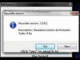 Firmware uploader - Upgrade du firmware easy - PT SE 2010