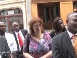 Pius NJawé rend homage à Moumié