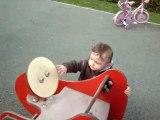 Timéo au parc !!!