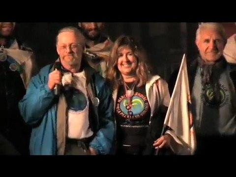 Marche Mondiale et Flamme d'Hiroshima à Barcelone 13 nov. 09