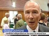 Premier tour de  l'élection cantonale d'Arcis-Sur-Aube