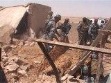 Iraqi hideout of killed Al Qaeda chiefs in ruins
