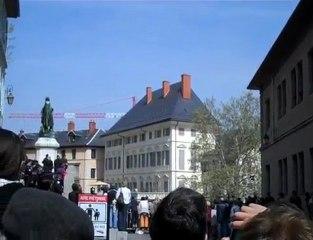 Nicolas Sarkozy à Chambéry : y'a pas grand chose à voir