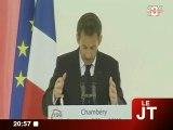 Chambéry : Nicolas Sarkozy rend hommage aux Savoyards