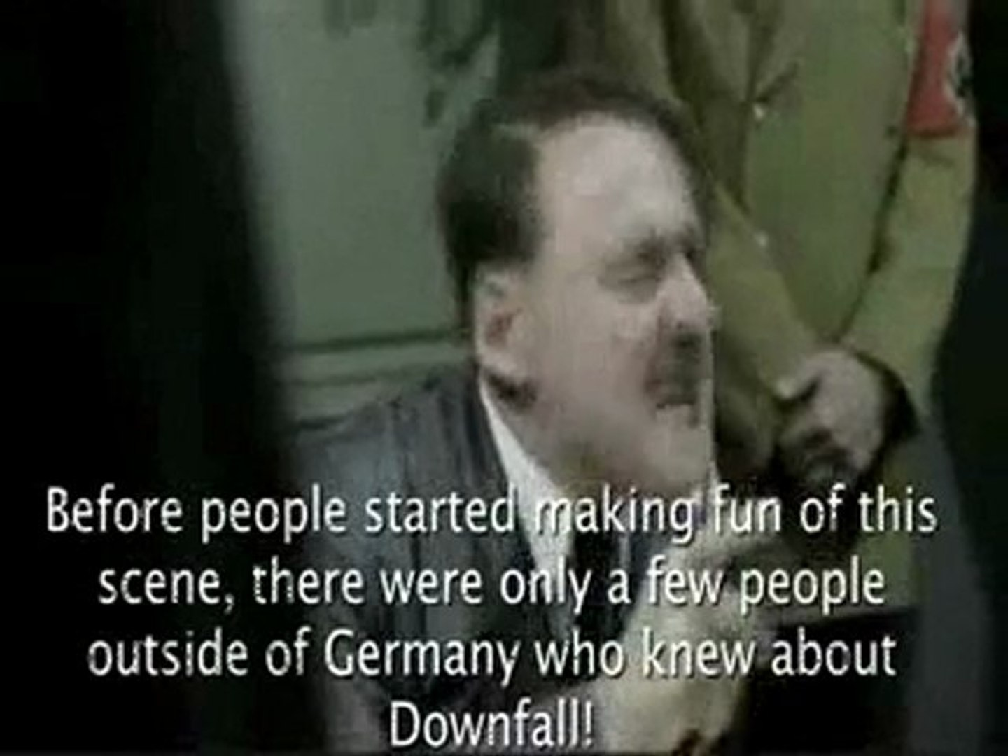Hitler reacts to the Hitler parodies being removed from ...