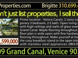 2409 Grand Canal Venice, 90291 VDH 2409 GRAND CANAL VENICE