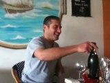 Sabrer le champagne, Steph t'as trop la classe !!!