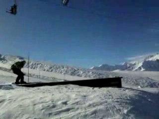 Freeride dans les Alpes (Valloire, Janvier 2010)