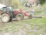 chantier  bois 2010 les adrets