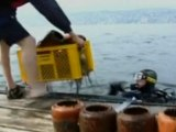 Probe launched into Swiss 'grave in the sea'