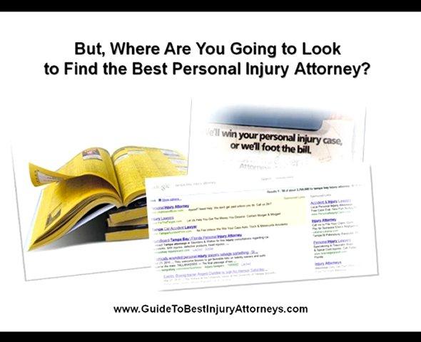 Guide to Best Injury Attorneys, Tampa Best Injury Attorneys